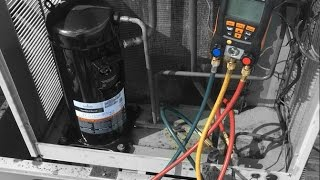 HVAC - Compressor Changeout with 407c Conversion