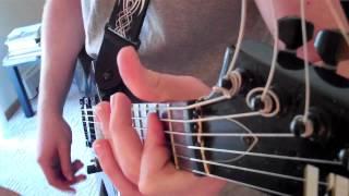 Dethharmonic Dethklok cover (headstock view)