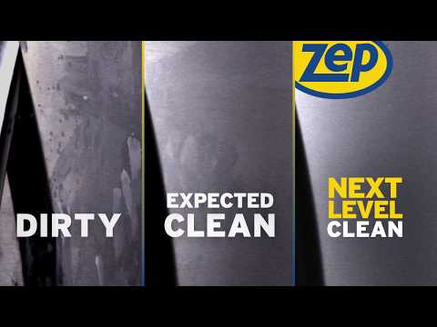How to Clean Stainless Steel Appliances with Zep Stainless Steel Cleaner and Polish