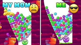 Angry Birds Dream Blast | Me VS. My Mom