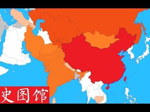 上海合作组织历年成员变化 The Shanghai Cooperation Organization