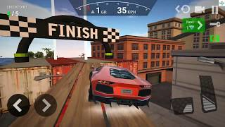 Ultimate Car Driving Simulator |Lamborghini Aventador |PARKOUR |Android HD 720p