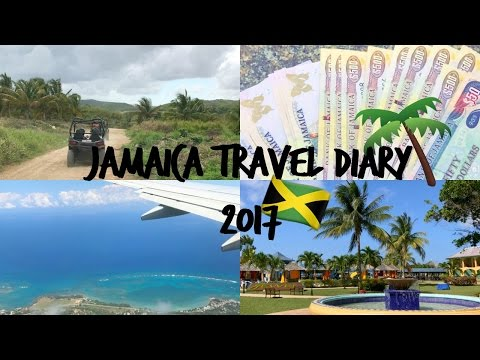 JAMAICA TRAVEL DAIRY VLOG 2017   Jewel Jasmine