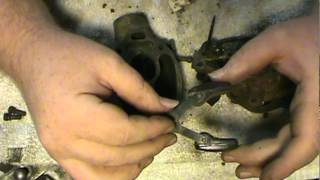 Rebuilding an updraft carburetor for 8n ford tractor part 1