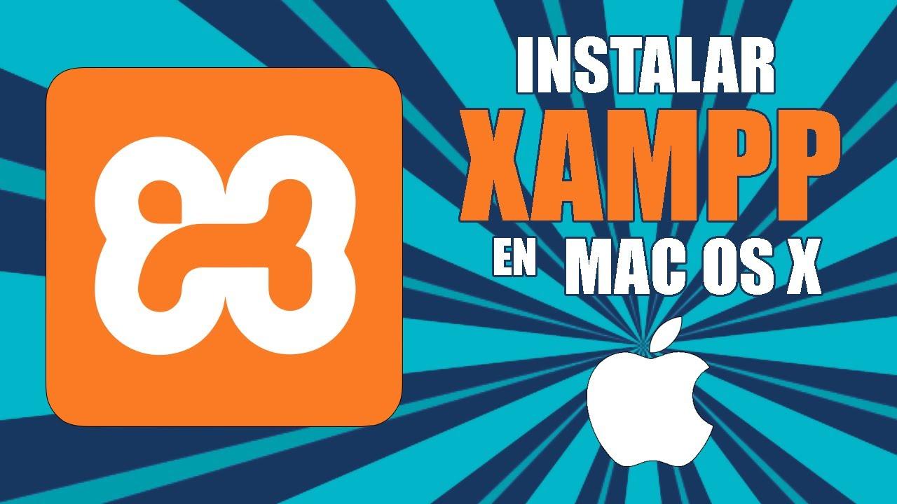 Manager osx xampp mac catalina