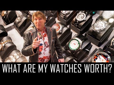 WHAT ARE MY $150,000 WATCHES WORTH NOW?