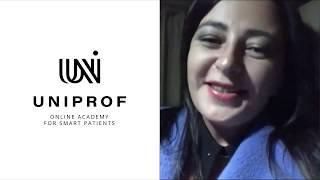 ПОЗИТИВНЫЙ Отзыв 1 на обучение в UNIPROF uniprof-med.ru курс Диетология с Мариной Внуковой