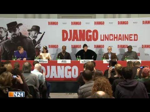 Django Unchained - Die komplette Pressekonferenz zur Deutschlandpremiere