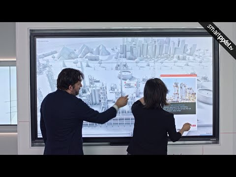 INTERACTIVE MULTI TOUCH REAL TIME 3D SCHEMATIC LANDSCAPE