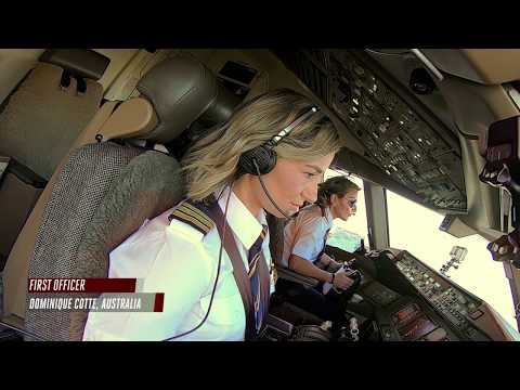 Female pilots flying high around the world | Airbus A380 | B