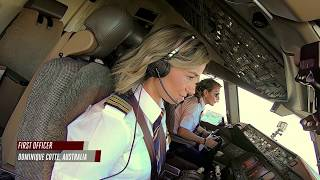 Female pilots flying high around the world | Airbus A380 | Boeing 777 | Emirates Airline thumbnail