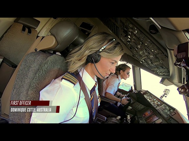 Female pilots flying high around the world  | Airbus A380 | Boeing 777 | Emirates Airline
