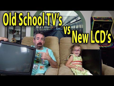 CRT vs LCD TVs