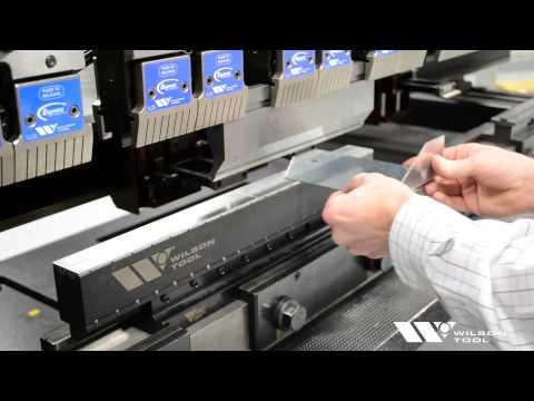 Wilson Tool V-Series Black Press Brake Dies
