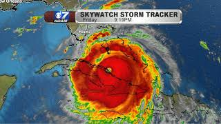 Late Friday September 8th - Tracking Our Weather & Irma
