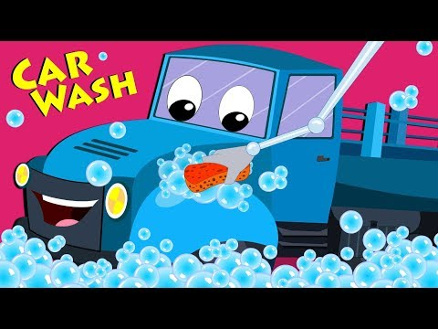 Fruit Truck Car Wash | Car Wash Cartoons For Toddlers | Videos For Children by Kids Channel