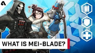 What is Mei-blade? - How Reaper and Mei Are Dominating The Overwatch League Meta | Behind The Akshon