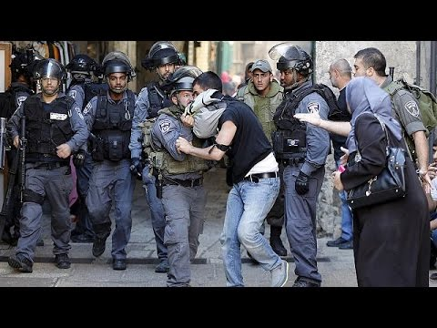 Clashes erupt at holy site in Jerusalem