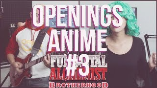 Mix Openings Anime #3 [ESP/ENG] Covers!