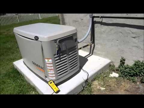 Generac Whole House Generator Install part 6 final