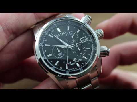Grand Seiko SBGC003 Chronograph Dual Time Spring Drive Showcase Review