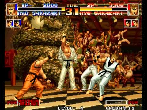 The King Of Fighters 94 All Desperation Moves