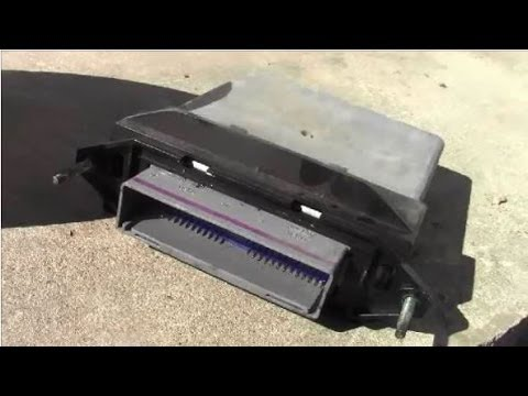 2000 ford taurus engine diagram direct tv swm box how to replace powertrain control module (pcm) car computer - youtube