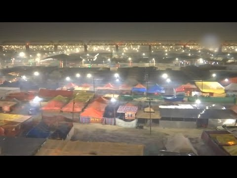 Kumbh Mela 2019: Prayagraj lights up ahead of the event