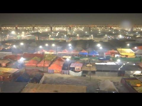 Kumbh Mela 2019: Prayagraj lights up ahead of the event