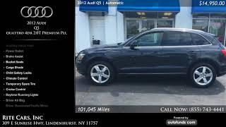 Used 2012 Audi Q5 | Rite Cars, Inc, Lindenhurst, NY