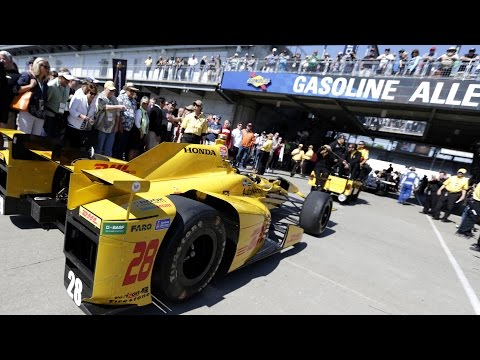 Gasoline Alley Cam for the 101st Running of the Indianapolis 500