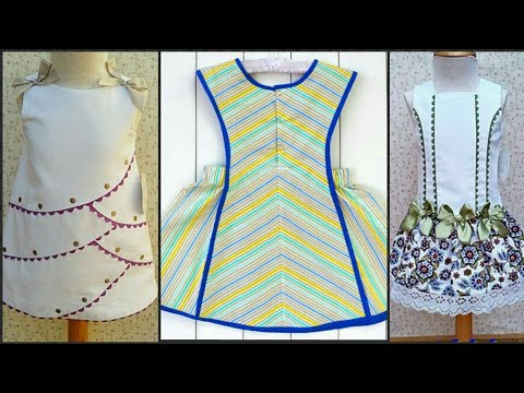 Kids Latest Summer Frocks Collection For Girls 2019 Youtube