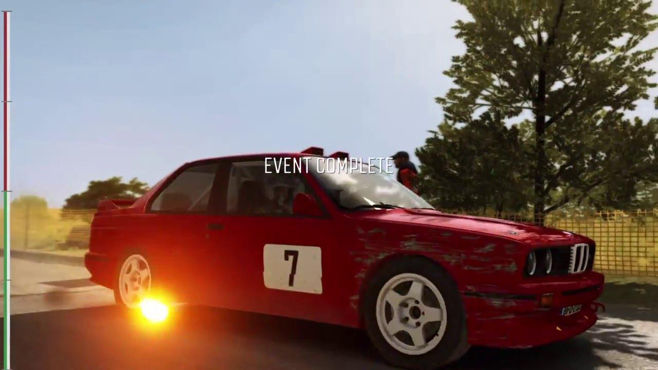 Dirt Rally Bmw E30 M3 Evo Rally Ps4 T500rs