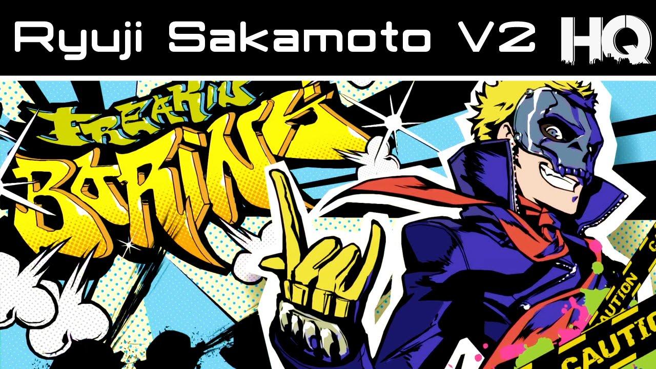 Persona 5 Character Profile 03 Ryuji Sakamoto V2