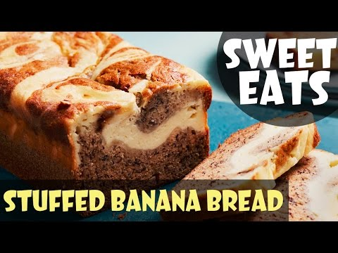 Cheesecake-Stuffed Banana Bread   Food Network