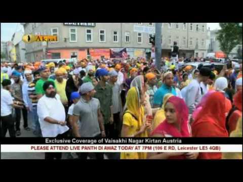 Nagar Kirtan Vienna   29. Mai 2016   Akaal Channel Coverage