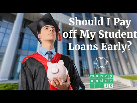 Should I Pay off my Student Loans Early?