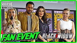 BLACK WIDOW (2020) | SDCC 2019 Cast Interview
