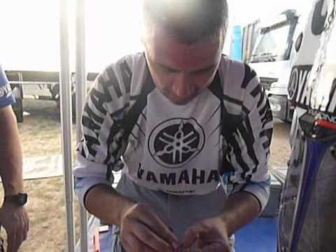 Autocollant moto Dakar David Barrot.avi