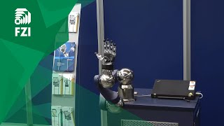 Motion Control of Anthropomorphic Schunk 5-Finger-Hand on Robotic Arm LWA 4P
