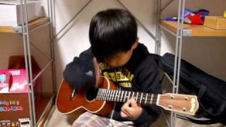 While My Guitar Gently Weeps(ukulele)