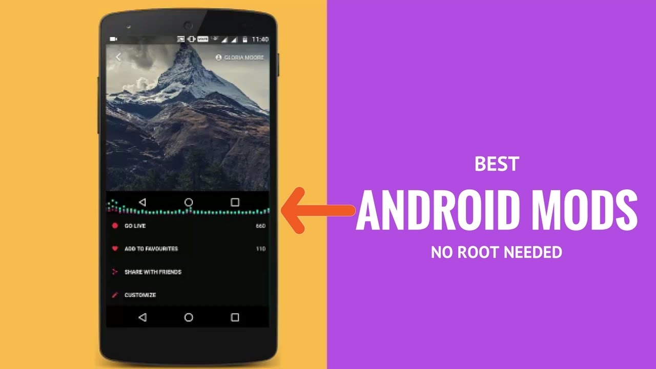 Best Android Mods[NO ROOT NEEDED]