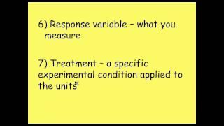 Deneysel Tasarım ve Şartların AP İstatistik: Temelleri