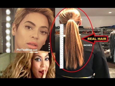 Beyoncé Mom Shows her Real Hair its LONG & Supposed to be a Secret💇