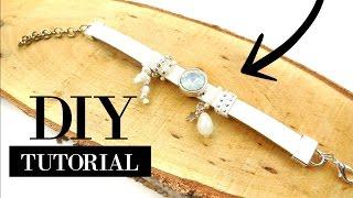 Zelf een Witte Leren Armband Maken