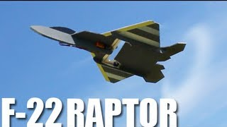 Flite Test - F-22 Raptor - REVIEW