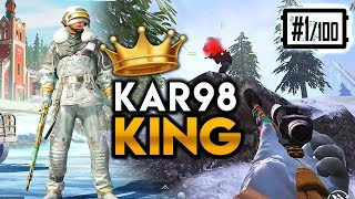 CRAZY SNIPER - JUMPING KAR98 NO SCOPE FOR THE WIN! PUBG Mobile