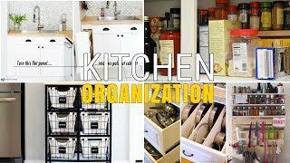 12 Unique kitchen DIY organization Ideas
