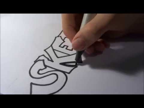 Graffiti Lernen Fur Anfanger Graffiti 004 Youtube