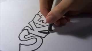 Graffiti lernen für Anfänger   GRAFFITI #004
